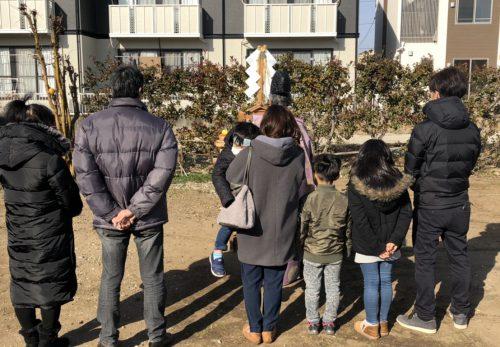 【愛知県小牧市】T様邸 地鎮祭を執り行いました。